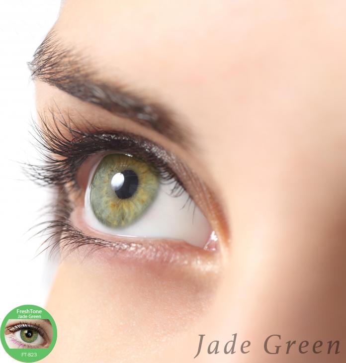Natural Emerald Green Eyes
